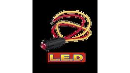 Narva Pilot Lamp 24V Red 62077BL 234454