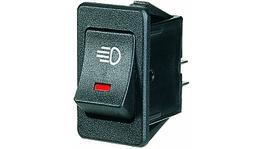 Narva Rocker Switch Dem LED Red 63026BL