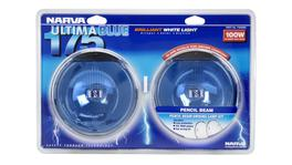 Narva Ultima 175 Blue Pencil Beam Driving Lamp Kit 12V 100W - 71650BE 17340
