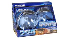 Narva Ultima 225 Blue Combination Beam Driving Lamp Kit 12V 100W - 71700BE