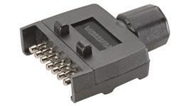 Narva 7 Pin Trailer Plug Flat 82141BL
