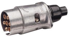 Narva 7 Pin Trailer Plug Round 82161BL