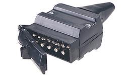Narva 12 Pin Trailer Plug Flat 82171BL