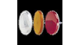 Narva Reflector 65mm Amber Fixed Bolt 84001BL
