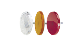 Narva Reflector 65mm Red Fixed Bolt 84002BL