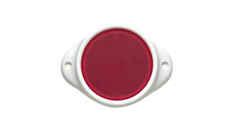 Narva Reflector 80mm Red With Housing 84082BL