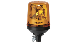 Narva Rotating Beacon Light Amber Pipe Mounted 85654A