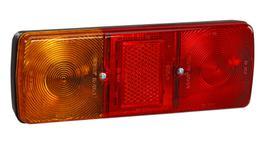 Narva Trailer Light Combination w/ Reflector Red/Amber 85700BL