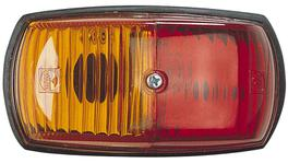Narva Trailer Light Side Marker Red/Amber 85760BL
