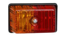 Narva Trailer Light Side Marker Red/Amber 85880BL