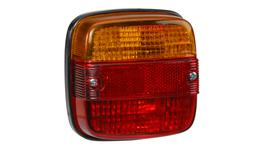 Narva Trailer Light Combination w/ Reflector Square 86030BL