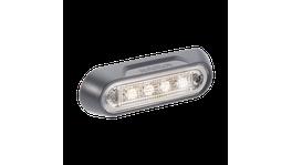 Narva LED Courtesy Lamp White/Chrome 90812C