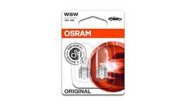 OSRAM W2.1X9.5D Wedge Globe W5W 12V 5W