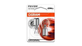 OSRAM Globe Bayonet 12V 21/5W 2 Pack
