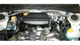 Whiteline KSB554 Strut Brace Front fits Subaru WRX & STI Sedan/Forester 2002-07 152556