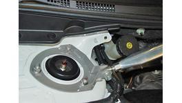 Whiteline KSB638 Strut Brace Front fits Mitsubishi Lancer/Ralliart 2008+