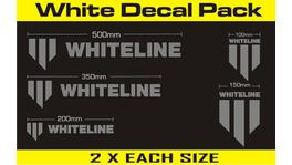 Whiteline KWM003 Decal Pack - Silver