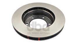 DBA Brake Rotor HD Front Pair DBA42714 37271
